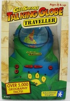 Geosafari electronic talking globe tellurion acoustooptical voice learning machine equipment