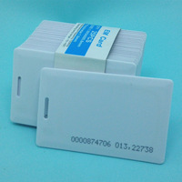 10pcs TK4100 RFID thick card 125KHZ ISO7816 ID access control card EM4100 Low frequency