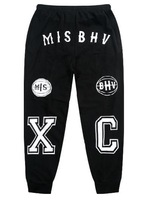 New Fashion Misbhv Nineties XC Sweatpants Hip hop Harem Pants Men Plus Size G-Dragon YO Pyrex23 HBA KTZ Men And Women
