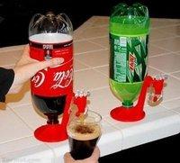 Novelty mini Fridge Beer Drink Dispenser,Soft Beverage Dispenser for Households Event & Party Supplies As Seen On TV