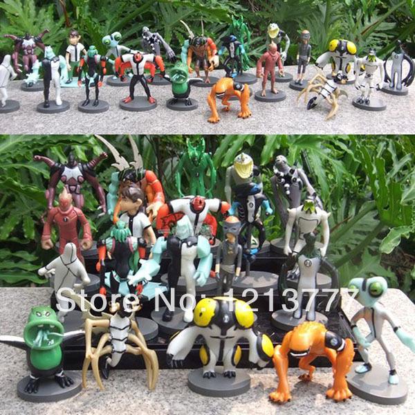 New Sale Ben 10 Alien Force action figure toys Set of 20 Anime PVC Figures Ben10 figure(China (Mainland))