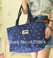 Wholesale - New fashion handbag or lend foreign trade single shoulder bag flower flower canvas bag hand bags