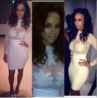 Free shipping  Womem summer Dresses New fashion 2014 bandage White dress  bodycon dress sexy women dresses S,M ,L YQ011