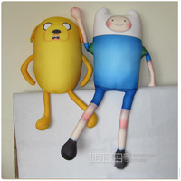 Free Shipping 2014 New Arrival Ultra Large 63cm Height Adventure Time Finn & Jake Nano Particle Stuffed Cute Doll Toys