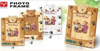 Child baby cartoon bear photo frame 3D bear cat photo frame gift free shipping