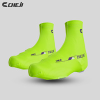 Top  2014 Cheji Pioneer Style Green  Cycling Shoe Cover  Bike Wear With High Quality Bicycle Equipment   sports accessories