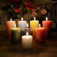 Classic wax column candles diameter 5cm classic romantic birthday candle Smokeless tearless classic romantic wedding candles