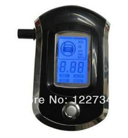 DHL free shipping,20pcs/lot ,Fashion ProfessionalMini Police Digital LCD Breath Alcohol Tester Breathalyzer AT6000