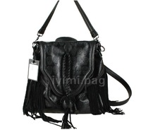2014 tassel skull casual messenger bag double-shoulder women's handbag multi-purpose bag student bag