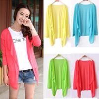 Hotsale loose and comfortable fashion sunscreen spring summer new long sleeve modal shirt Free shipping