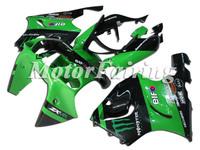 ABS motorcycle  fairings for  KAWASAKI ZX7R 96-03   kawasaki zx7r fairing zx7r ninja full set fairing body Green