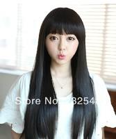 Stylish Charming Sexy Wig Womens Long Fashion Natural Straight Full Lace Wigs YSJF-04