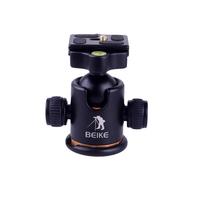 Beike BK-03 Photography Camera Tripod Ball Head Ballhead+Quick Release Plate Pro Camera Tripod Max to 8KG-Free Shipping