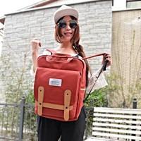 Free shipping 2014 general large capacity double buckle handbag  canvas bag  school bag  designer backpack fashion backpack