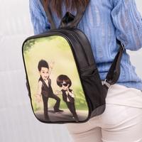 Fashion backpack school bag cartoon backpack student backpack children's loves backpack,parent-child backpack,Free shipping