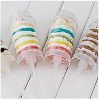 300pcs/lot Cake Push Pops Push Ups Ice Cream Pop The New Cupcake By Classikool   Free Shipping