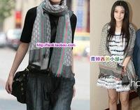 Free Shipping European 2013 fashion spring fall winter logo scarf cape long scarves woman and man warm shawl