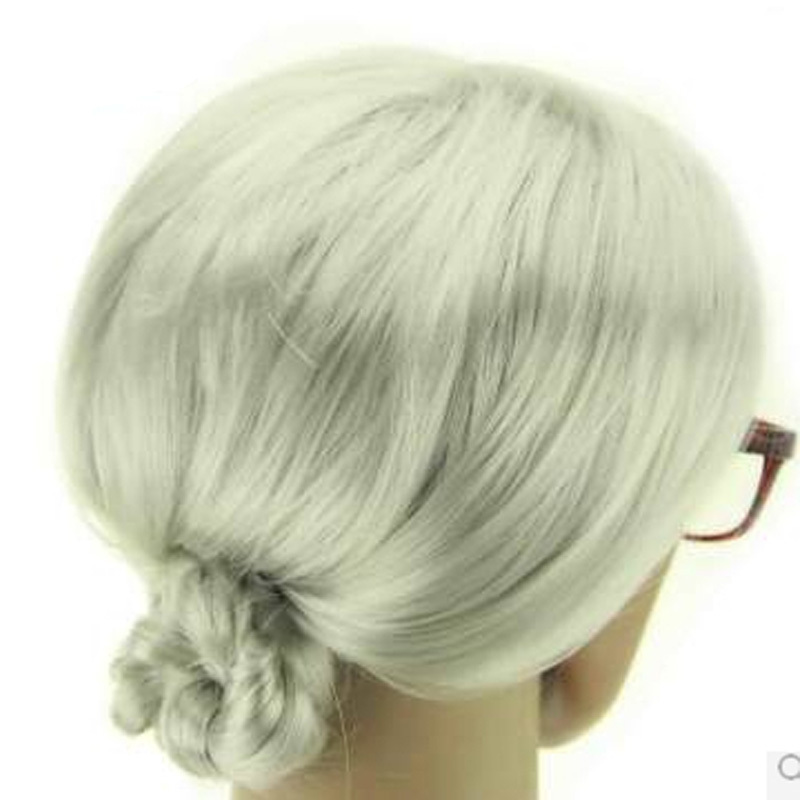 White Old Lady Wigs 72