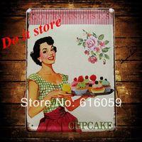 [ Do it ] Vintage Tin Signs PUB House Cafe Retro Metal painting Retro Craft Decor 15*21 CM N-62