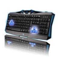 High-quality Ergonomic Design Super Dazzle LED Wired USB Gaming Keyboard Free Shipping