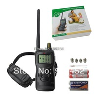 YY New 1km Remote LCD Display Shock Dogs Electric Trainer Pet Collars T0780