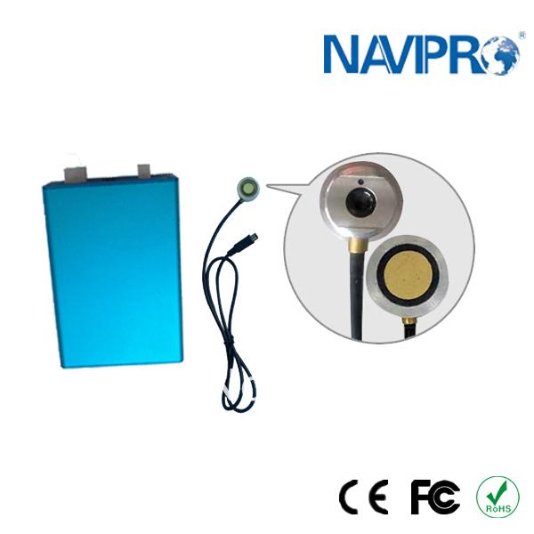 new product F500 for all liquids digital and analog ouput ultrasonic fuel level sensor(China (Mainland))