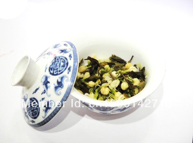 Promotion Organic Jasmine Flower Tea Green Tea 50g Secret Gift Free shipping