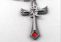 Naruto Chains Cross Necklaces Gaara Pendants Anime cosplay