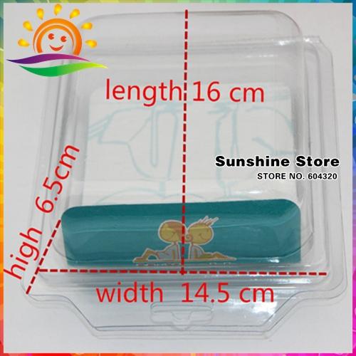 Sunshine store #2X0175 10 pcs/lot Large Transparent Plastic Foldable Shoe box for Storage boots special parts baby shoe box(China (Mainland))
