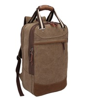 2014 new men's large capacity canvas bag leisure travel backpack