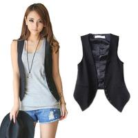 Women's Wardrobe, waistcoat factory direct wholesale Korean Women Slim wild cotton vest women