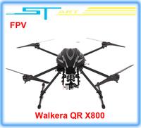 Free shipping Walkera QR X800 Brushless motor FPV GPS Drone RC Quadcopter BNF RTF helicopter VS QR X350 pro DJI Phantom 2 V 2014