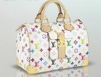 wholesale cheap fashion design classic white color WOMEN TYPE HANDBAG BAGS WITH LOCK WHITESALE