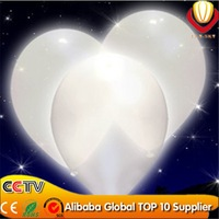 200pcs/lot Free Shipping High Quality white led Latex Helium Inflable Party Holiday Wedding Decoration White Led Balloon