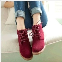 2013 lacing casual platform shoes female shoes british style