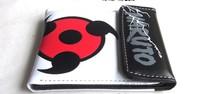 NARUTO Uchiha Sasuke syaringan cosplay wallet