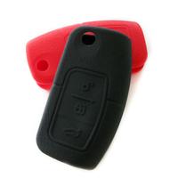 Fox fiesta 2.3 a perious fashion s-max car genuine leather key wallet silica gel sets
