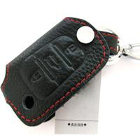 Car i30 modern genuine leather key wallet set buckle