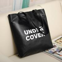 2014 women's handbag bag PU bag fashion large capacity shoulder bag shopping bag brief totes