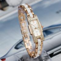 2014 New Retail Fashion Rhinestone Women Dress Watches,Lady Top Quality Bracelet Quartz Gift Watch,Free Shipping