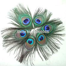 FREE SHIPPING! 200pcs/lot Beautiful Peacock feathers for craft Peacock Feather Eyes feather accessories