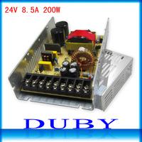 New 24V 200W Switching Power Supply Driver For LED Strip light Display AC100V-240V Input,24V Output Free Shipping
