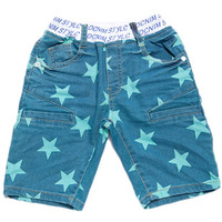 Boys Summer Star Print Shorts Five Pants Pocket Kids Casual Short,Free Shipping K6543