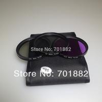 Camera Lens Filter 58mm CPL UV FLD Filter Kit for Canon EOS 500D 550D /Rebel T3i T2i T1i SLR