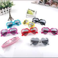 Child heart sunglasses baby decoration kids sunglasses 24pcs/lot free shipping