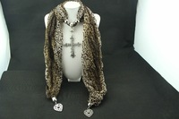 2014 new European and American jewelry scarf, name fee shipping