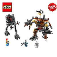 NEW Original educational brand lego Blocks toys 70807 MOVIE series MetalBeard's Duel 412PCS for Gift ,Free Shipping