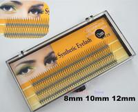 Wholesales 100case 8mm10mm 12mm C-Lash Crisscross Fake Eyelash Extension Kits False Lashes Natural Eyelashes Makeup Tools E-029