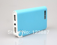 USB Power Bank External Battery Charger for iPhone 4S 4 5 5C 5S HTC one