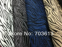 "New arrival, fashion metalic leather film leather zebra leather 0.7mm*52""+-0.05   MOQ 1YARD MY-3921"